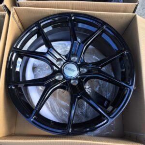 20″ Velsen STW531 Full Black 5Holes PCD114 Brandnew