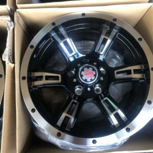 15 Scarlet wheels STW571 5Holes PCD114 Bnew mags