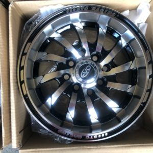 13″ Evo Shoraka 843 Bnew Mags 4Holes PCD100-114