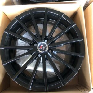 17 Dcenti Mags VW17A 4Holes pcd 100 Brandnew Black