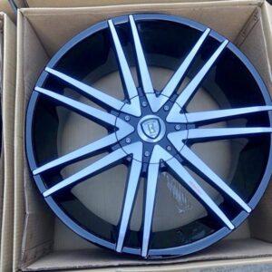 22 Borghini B20 Magwheels 6Holes PCD139 Brandnew