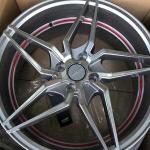 17″ Dcenti LM101 gray 4Holes pcd 100 bnew magwheels