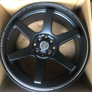 17″ Volkrays TE37 Ultra Black Bnew code 176103 mags 4Holes PCD100-114