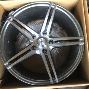 17 Trend 302 Hyperblack Polish Magwheels 5Holes PCD114 Brandnew