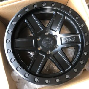 20″ Blackrhino Attica Black 6Holes pcd 139 magwheels