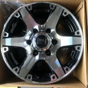 15 Hunterwheels K5303 Polish 6Holes pcd 139 Fit sa Van SUV