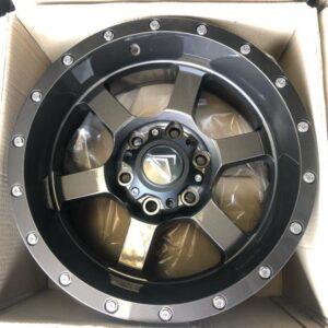 17 Rota Atlas 1 mags Gunmetallic 6Holes PCD139