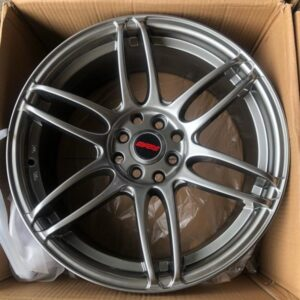 17″ Rays code QC144 Hyperblack bnew mags 4Holes PCD100 and 114