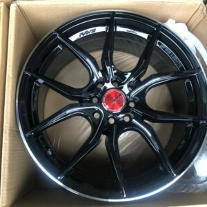 17″ 57fxx Black code QC5131 bnew mags 4Holes PCD100 and 114