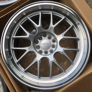 18 Rota MXR Silver 5Holes pcd 100 n 114