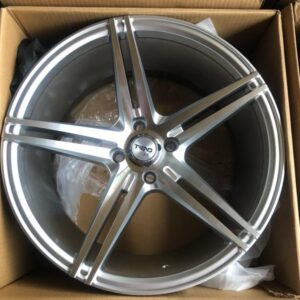 16″ Trend Magwheels 4Holes Pcd100 Silver Polish Bnew