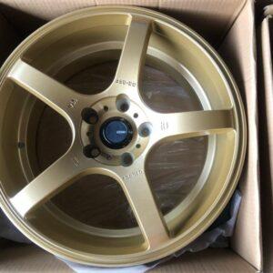 17 GCO5F Gold Magwheels code270 5Holes pcd 114