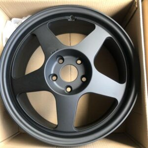 17 Rota Slipstream Black 5 Holes pcd 114 Bnew mags