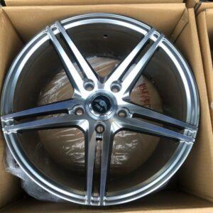 16 Gmax HyperBlack Polish Magwheels GM5263 5Holes PCD114 Brandnew