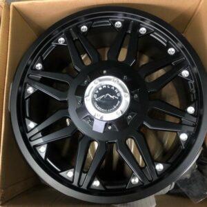 20″ Overland Rogue 1.20 Black Mags 6Holes PCD 139 Brandnew Magwheels