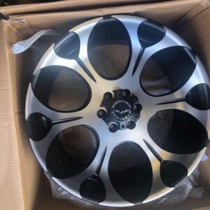20″ Overland 1.16 Mags 6Holes PCD114 for Navara or Terra Brandnew Magwheels