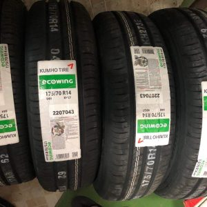 175 70 R14 Kumho ecowing Bnew tire