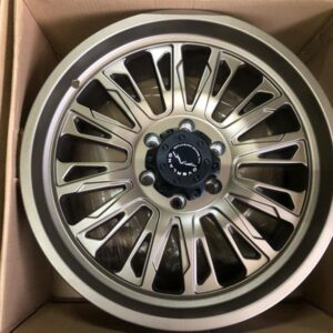 20″ Overland 1.21 Bronze Mags 6Holes PCD 139 Brandnew Magwheels
