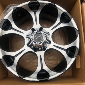 20″ Overland Touring 1.16 Machine Face Mags 6Holes PCD 139 Brandnew Magwheels