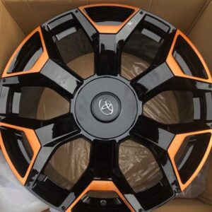 20″ Toyota Inspired Copper Mags 6Holes PCD 139 Brandnew Magwheels