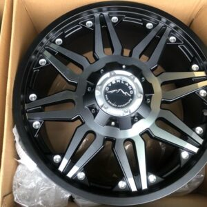20″ Overland Rogue 1.20 Machine Face Mags 6Holes PCD 139 Brandnew Magwheels