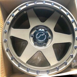 20″ Overland Rogue 1.26 Bronze Mags 6Holes PCD 139 Brandnew Magwheels