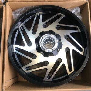20″ Overland Rogue 1.19 Machine face Mags 6Holes PCD 139 Brandnew Magwheels