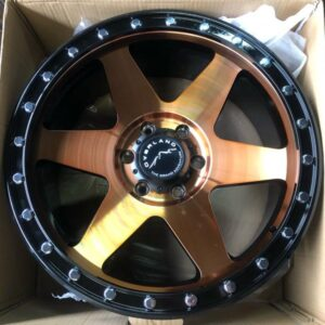 20″ Overland Rogue 1.26 Gold Mags 6Holes PCD 139 Brandnew Magwheels