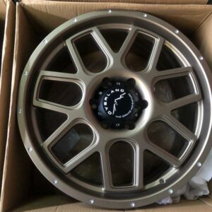 20″ Overland Rogue 1.27 Bronze Mags 6Holes PCD 139 Brandnew Magwheels