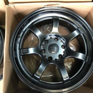 18″ Rota Realite Offroad Hyperblack mags 6Holes pcd 130 for New Grandia 2020 model