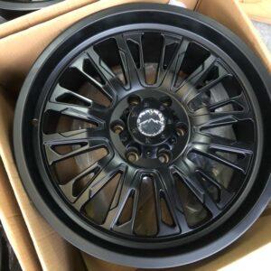 20″ Overland 1.21 Black Mags 6Holes PCD 139 Brandnew Magwheels