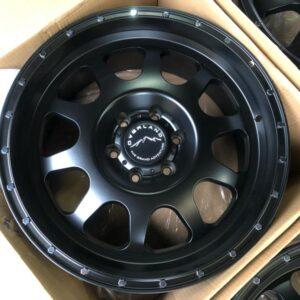 20″ Overland 1.23 Black Mags 6Holes PCD 139 Brandnew Magwheels