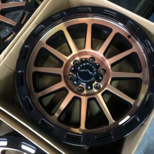 20″ Overland Touring 1.6 Gold Face 6Holes PCD139 Brandnew Magwheels
