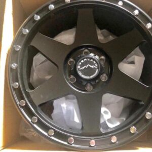 20″ Overland 1.26 Black Mags 6Holes PCD 139 Brandnew Magwheels