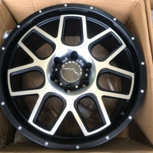 20″ Overland Rogue 1.27 Machine Face Mags 6Holes PCD 139 Brandnew Magwheels