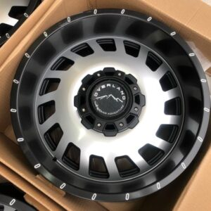 20″ Overland Touring 1.10 Machine Face 6Holes PCD139 Brandnew Magwheels