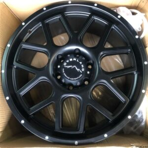 20″ Overland Rogue 1.27 Black Mags 6Holes PCD 139 Brandnew Magwheels