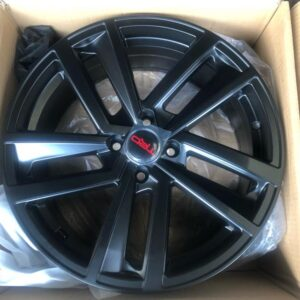 17 TRD Version 3 black code 7074 magwheels bnew 4holes pcd 100 (Copy)