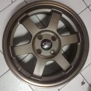 """15""""Rota Grid1 Speed Bronze 4Holes pcd 100 mags bnew"""