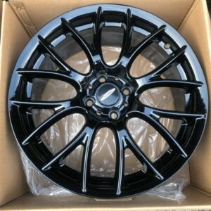 17″ Concept Works 8093 Mags 4Holes pcd 100 Black Bnew