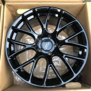 18″ Extreme wheels DXW006 Mags Black 5Holes pcd 114 Bnew m