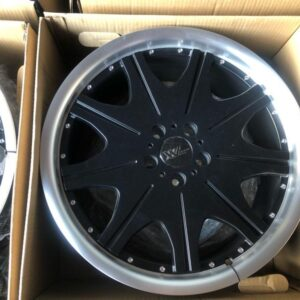 19″ VIP Black Design Mags for Benz Audi 5Holes pcd 112 Extreme wheels