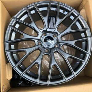 18″ Extreme wheels Mesh code DXW1325 Gray Mags 5Holes pcd 114