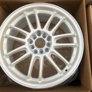17″ RE30 Rays Design TY296 Pearlwhite Mags 5 Holes pcd 100-114