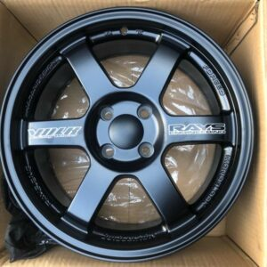 16″ Te37 Black code TY295 Mags 4Holes pcd 100 bnew