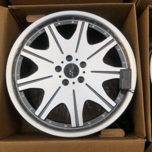 19″ VIP Polish gunmetal Design Mags for Benz Audi 5Holes pcd 112 Extreme wheels