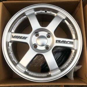 16″ Te37 Silver code TY295 Mags 4Holes pcd 100 bnew