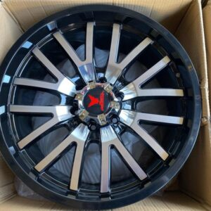20″ Fast & Furious Code A20006 Mags 6Holes pcd139 bnew