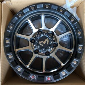 15″ MAS Wheels Bronze face QC1508 Mags 6Holes pcd 139 bnew