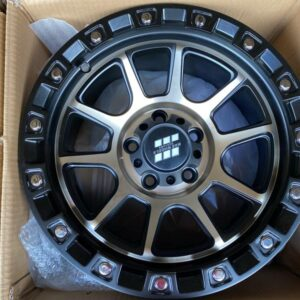 15″ MAS Wheels Bronze face QC1508 mags 5Holes pcd 114 Bnew
